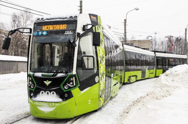 Рис. 2.  Трамвай «Чижик»