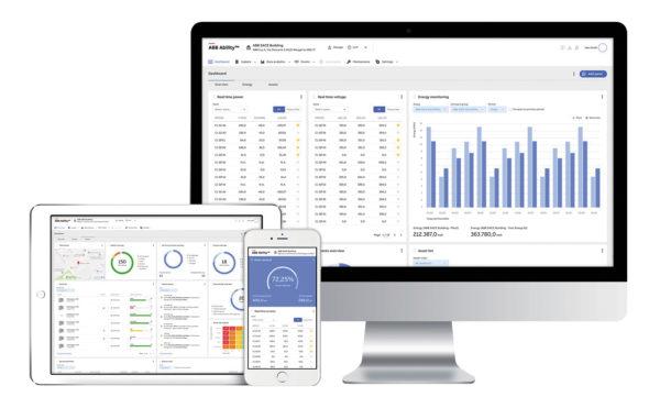 Система ABB Ability позволяет осуществлять мониторинг электроэнергии