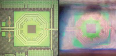 Квантовый сенсор на основе алмаза, изготовленный на кремниевом чипе
