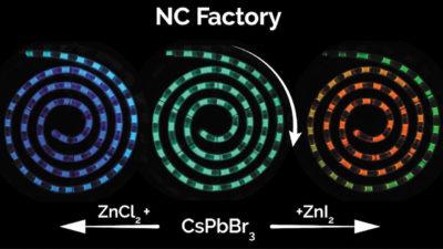 Нанокристаллы улучшают производство квантовых точек для приложений мониторинга процессов