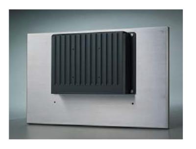 Дизайн корпуса вычислительного модуля панельного компьютера для пассивного охлаждения процессора