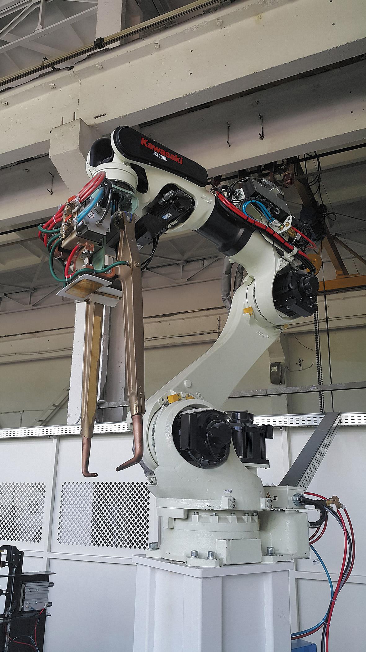 Промышленный робот Kawasaki BX200L