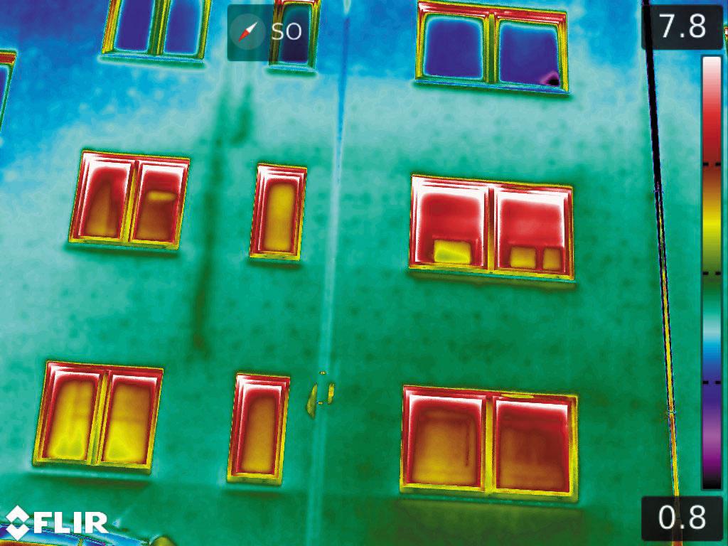 Рис. 2. Изображение приточных и вытяжных воздуховодов, а также заглушек с термоизоляцией