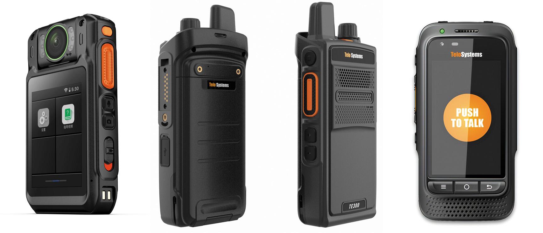 Персональные носимые LTE-рации Т8, TE300 и TE580P