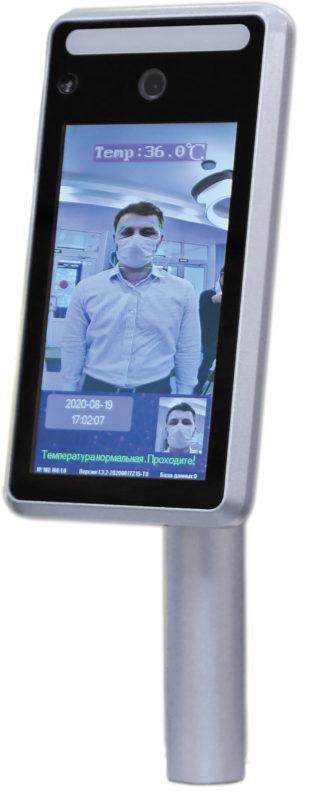 Visioсheсk ТС19 — устройство распознавания лиц и определения температуры тела