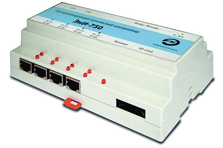 Рис. 5. Внешний вид ПЛК ЭнИ-750