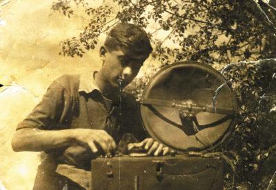 Яков Залманович Цыпкин — радиолюбитель (1936 г.)