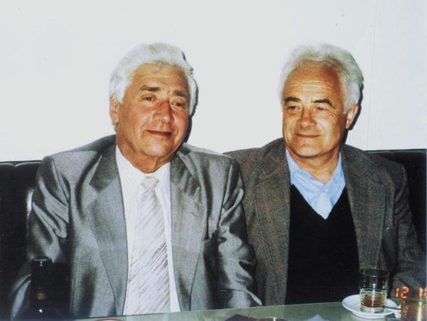 Яков Залманович Цыпкин с Владимиром Андреевичем Якубовичем