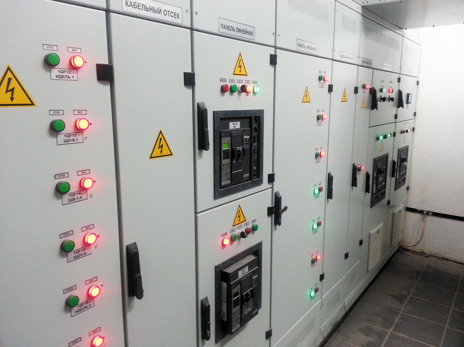 Рис. 3. Рабочие панели оборудования системы «Умный щит»