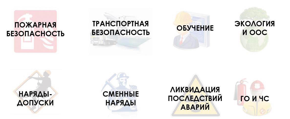 Дополнительные блоки управления «Промышленная безопасность и охрана труда» (ИСУ «ПБиОТ»)