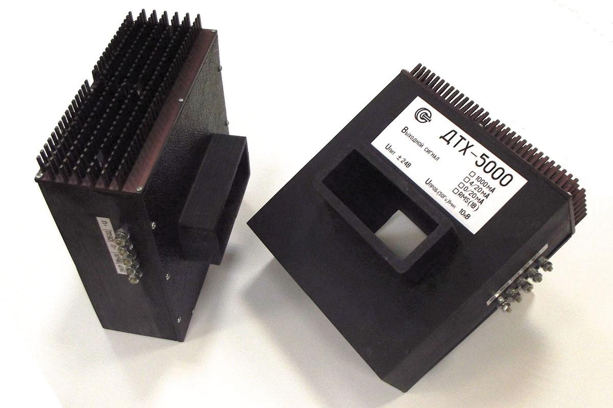 Рис. 3. Новинка: разработанный датчик измерения постоянного и переменного токов до 5000 А