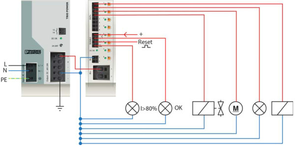 Пример организации защиты устройств от токов перегрузки и КЗ с помощью СВМ