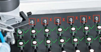 Контроль наличия и комплектности видеодатчиком SBSI