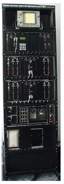 Приборная стойка перегонной части комплекса КТСМ-02