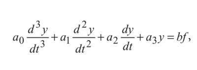уравнение положения заслонки y паровой машины с регулятором Дженкина