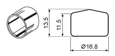 Пластиковый защитный колпачок CAP-PT