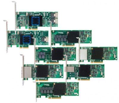 HBA с 16 портами, интерфейсом PCIe Gen3 и инновационной технологией шифрования