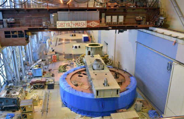 Проведены испытания первого гидроагрегата Богучанской ГЭС и его автоматики
