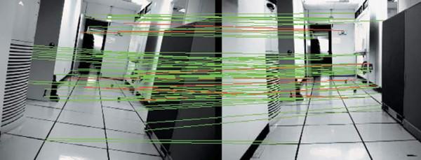 Сопоставление изображений внутри помещения в целях узнавания местоположения