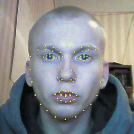 Детектирование ключевых точек на лице человека для распознавания эмоций