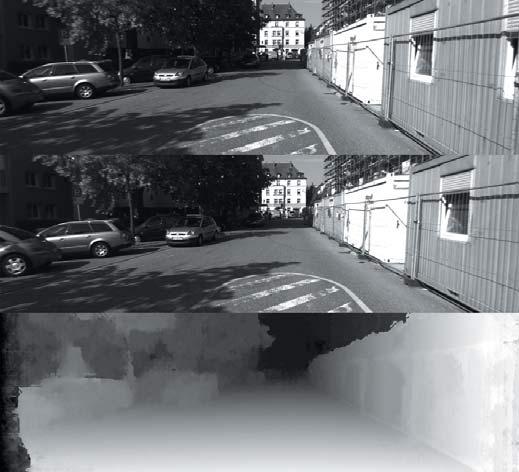 Стереозрение для детектирования препятствий на дороге