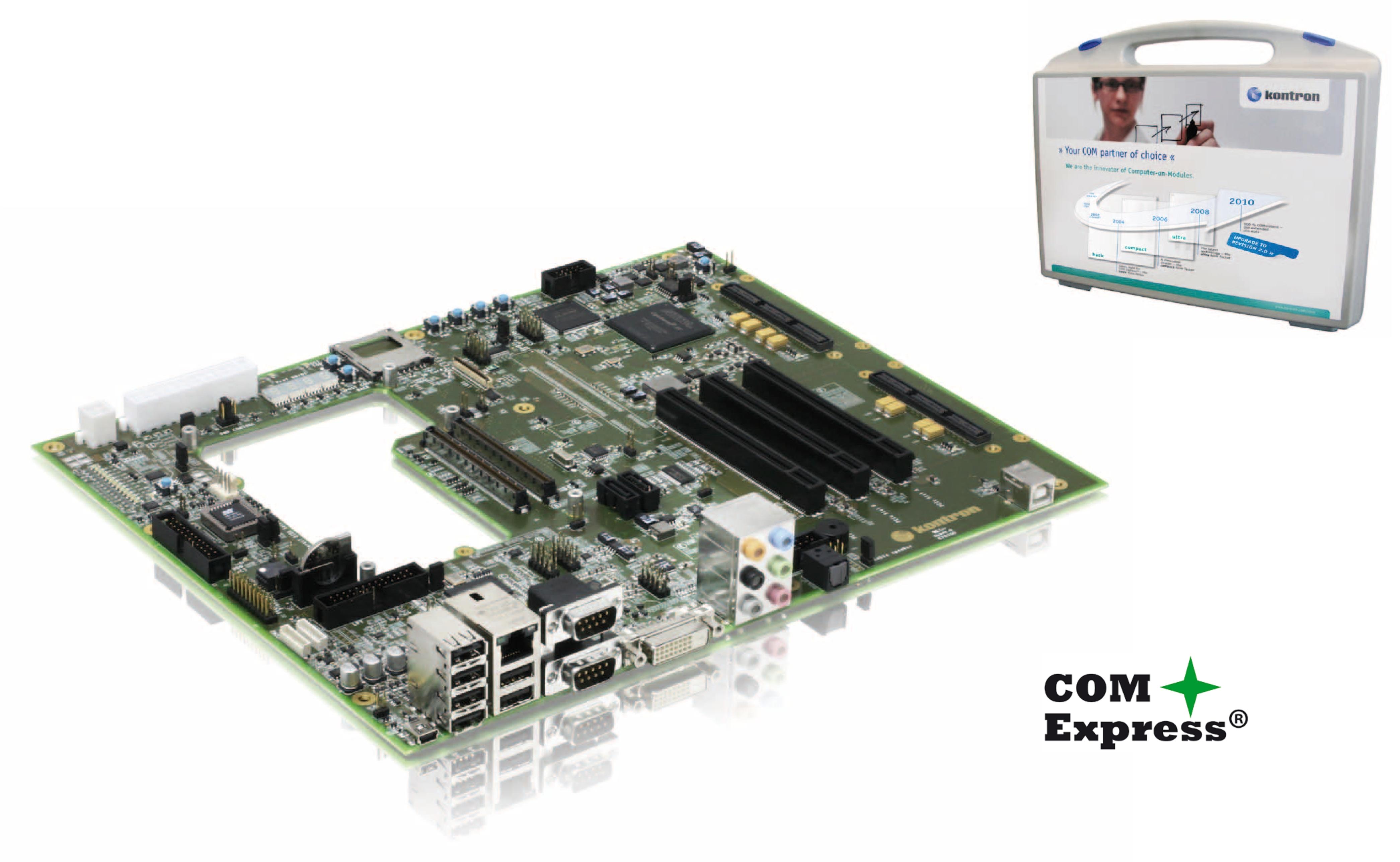 Kontron COM Express FPGA Starterkit