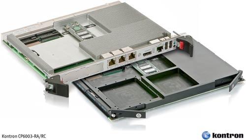 процессорнный модуль  CP6003 формфактора 6U CompactPCI
