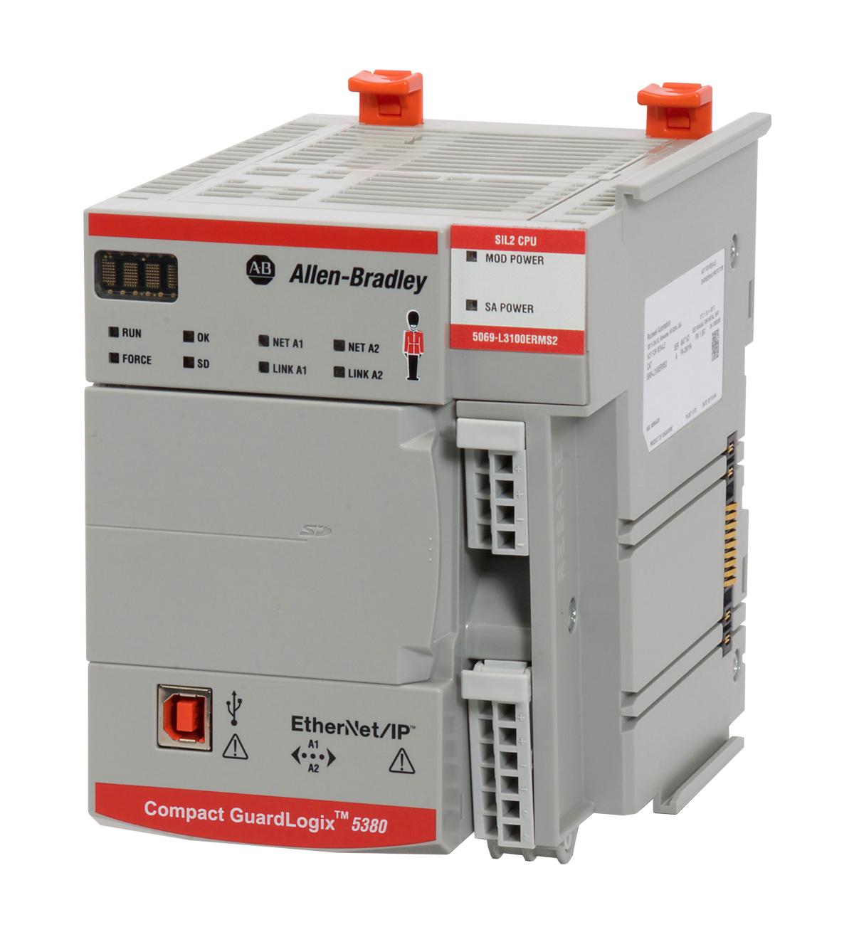 контроллеры Allen-Bradley GuardLogix 5580 и Compact GuardLogix 5380