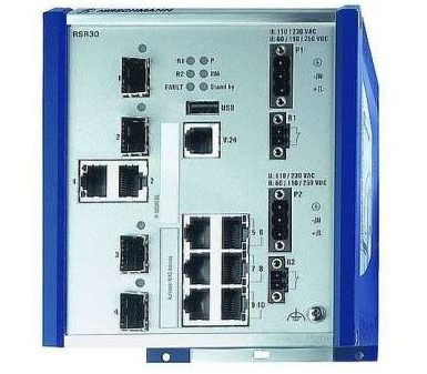 управляемые коммутаторы для промышленного Ethernet Hirschmann RSR