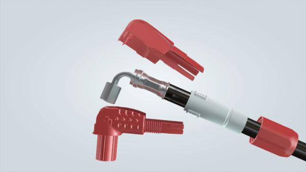 Устройство кабельных соединителей Han® S
