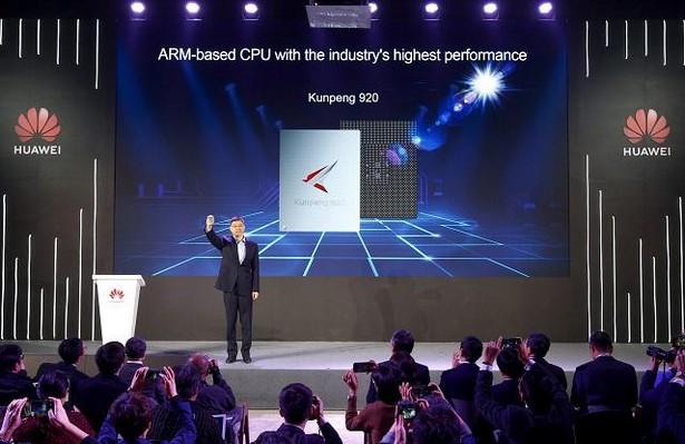 Huawei на выставке CES-2019 анонсировала самый производительный процессор под названием Kunpeng 920, построенный на архитектуре ARM