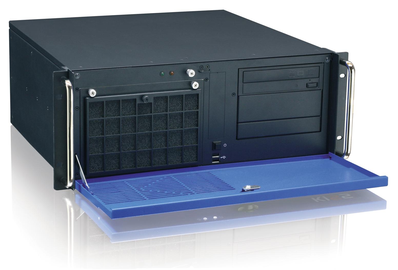 бесшумный промышленный сервер KISS 4U Short Q67Flex