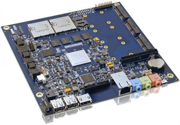 встраиваемая материнская плата формата Mini-ITX Kontron KTT30/mITX с АRM-процессором NVIDIA Tegra 3
