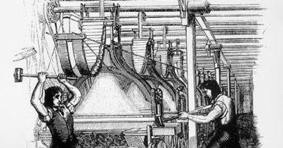 Луддиты (англ. «Luddites») – участники стихийных протестов первой четверти XIX в. против внедрения машин в ходе промышленной революции в Англии