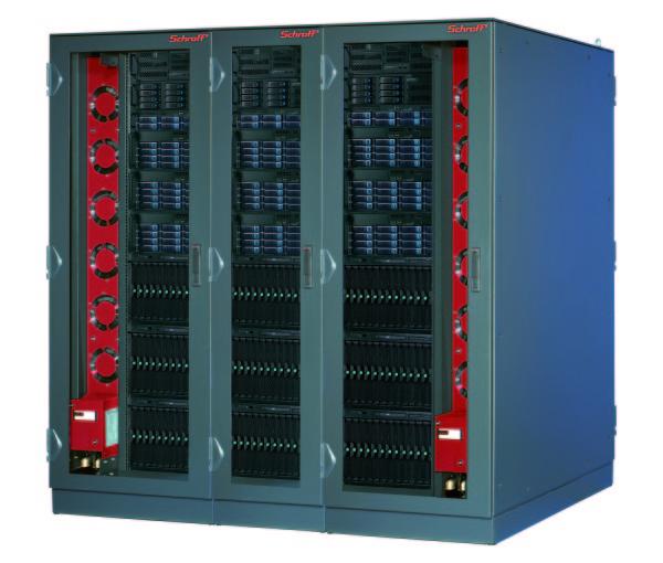 ЭМС-шкафы Schroff Varistar со встроенной системой охлаждения