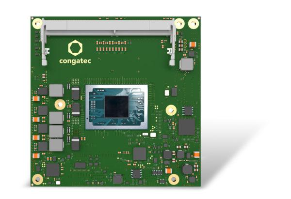 Процессор AMD Ryzen Embedded V2000 на платформе COM Express Compact от congatec