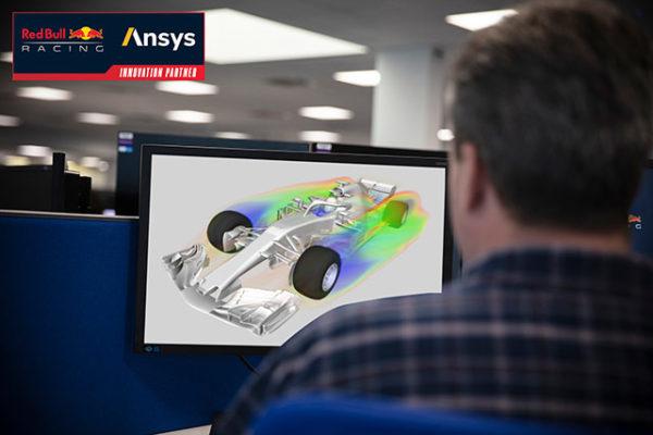 Red Bull Racing и Ansys ускорят проектирование гоночных машин