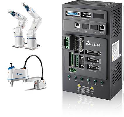 универсальные контроллеры для управления роботом серии ASD-MS