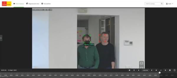 Видеоаналитика определит нарушителей масочного режима