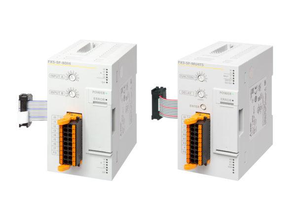 Компания Mitsubishi Electric анонсировала расширение функциональных возможностей программируемых логических контроллеров (ПЛК) серии MELSEC iQ-F с помощью двух новых модулей FS5 SF MU4T5 и FX5-SF-8D14