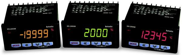 Многофункциональные цифровые индикаторы серии KN-2000W от Autonics