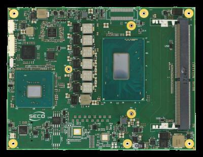 модуль COMe-C08-BT6 на базе процессора Intel восьмого поколения Core/Xeon