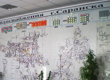 НПФ «КРУГ» завершены работы по интеграции мнемощита диспетчерского пункта в систему автоматизированного диспетчерского управления насосными станциями ОАО «СаранскТеплоТранс».
