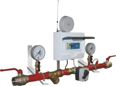Блочный модуль регулирования теплопотребления
