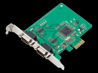 Мультипортовые платы RS-232 и RS-422/485 для шины PCI Express