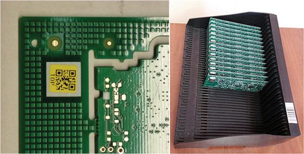 Маркировка изделий и тары при производстве электроники