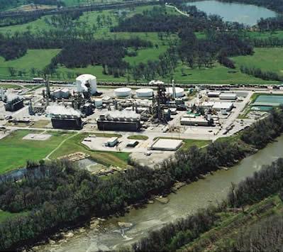 Завод Terra Nitrogen в Вердигрисе, Оклахома производит аммиак и раствор искусственной мочевины. Информация предоставлена Terra Nitrogen.