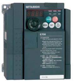 Новое поколение преобразователей частоты Mitsubishi Electric FR-E700