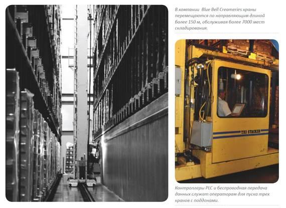 Wireless Ethernet и ПЛК увеличивают производительность Blue Bell Creameries