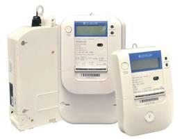 Элементы системы дистанционного измерения Network Energy System (NES) фирмы Echelon – счетчики электроэнергии EM-1021 и концентраторы данных DC-1000/SL